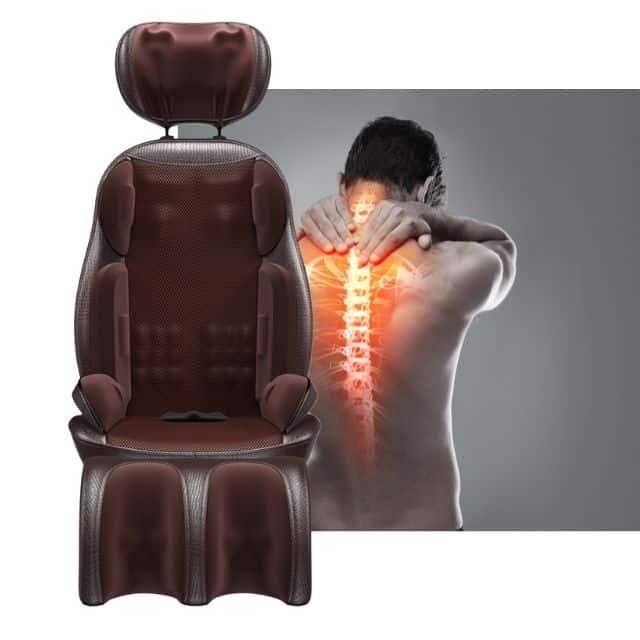 massaažiiste kaelamasseerija toolile